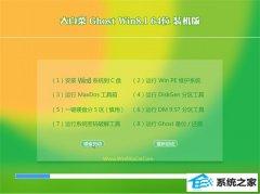 大白菜Win8.1 64位 电脑城装机版 2021.04