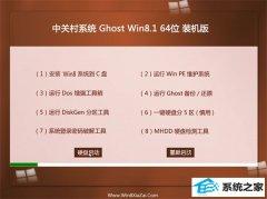 中关村Windows8.1 64位 增强装机版 2021.04